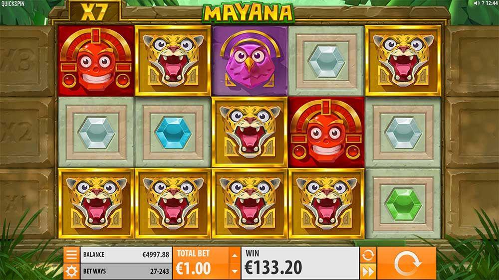 Mucha Mayana interface