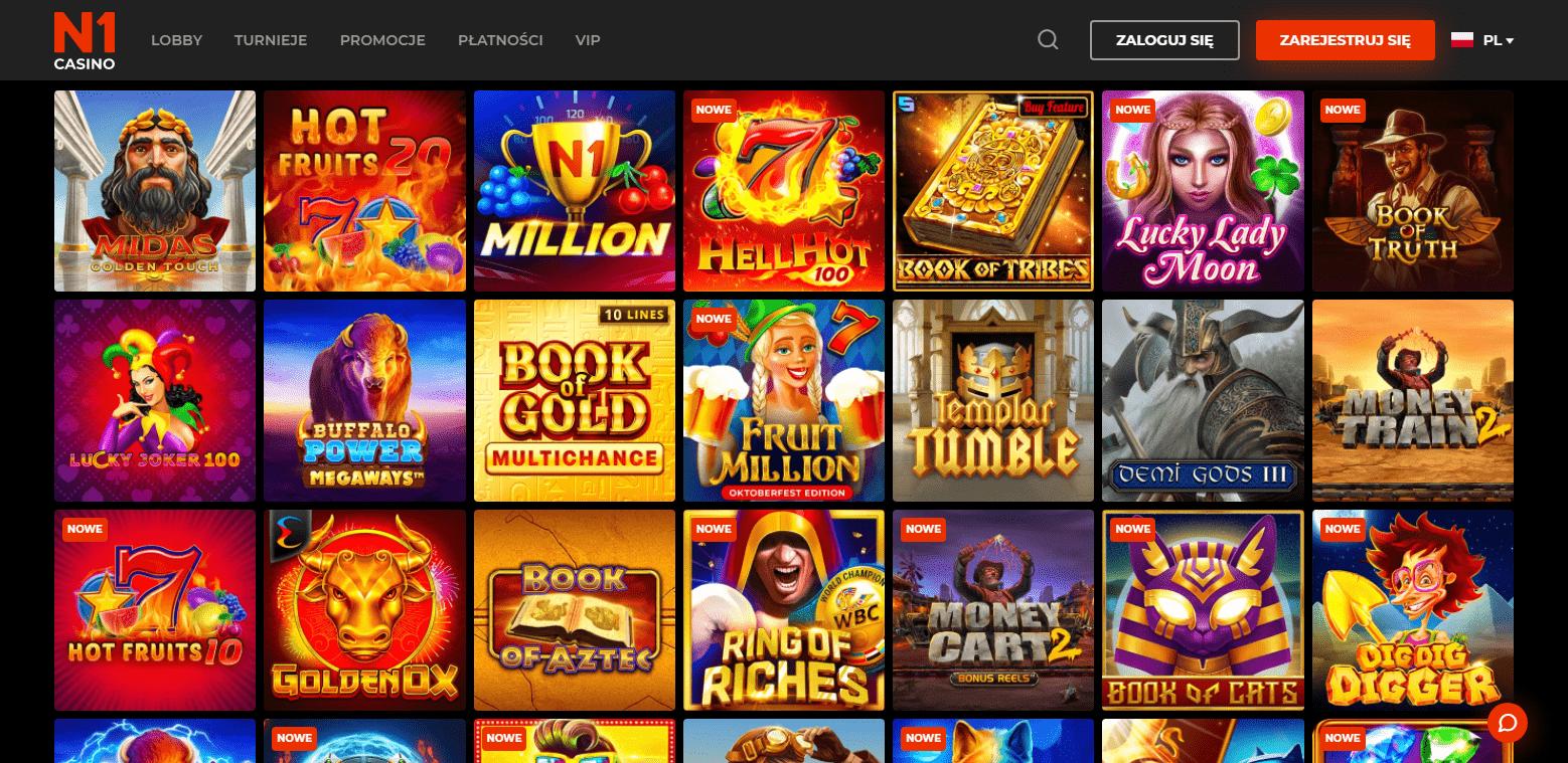 N1 Casino Gry