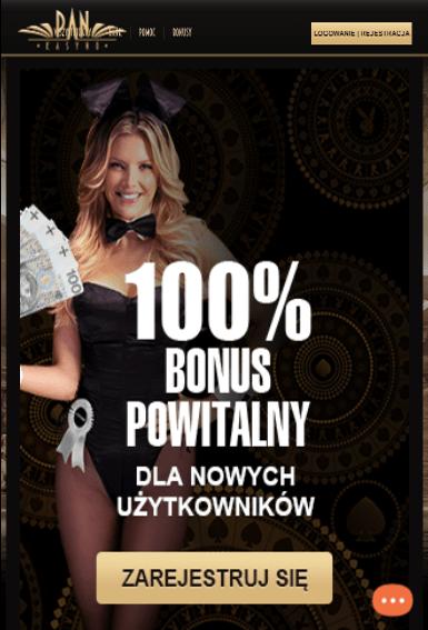 PanKasyno iOS & Android tablecie