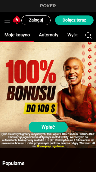 PokerStars Casino iOS & Android mobile
