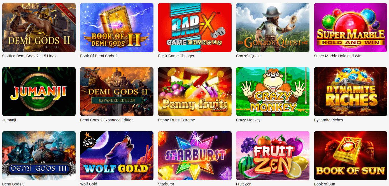 Online Automaty Slottica Casino