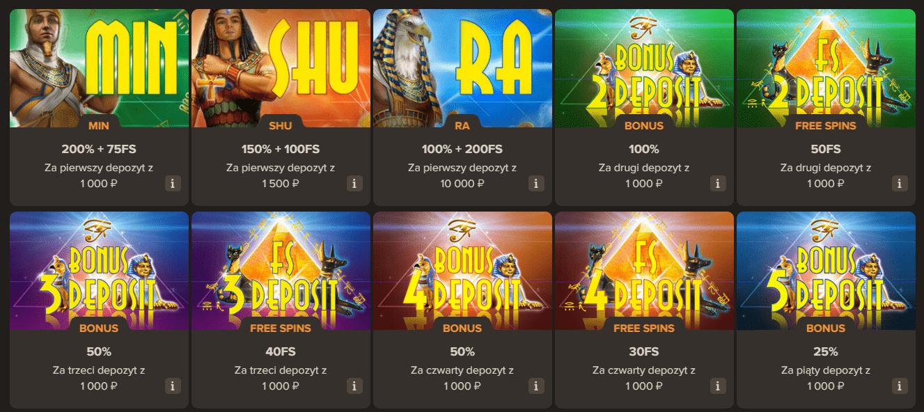 Darmowe spiny i Bonusy w Sol Casino