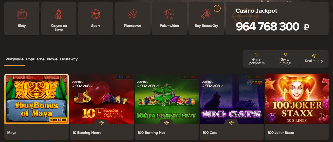 Sol Casino Gry