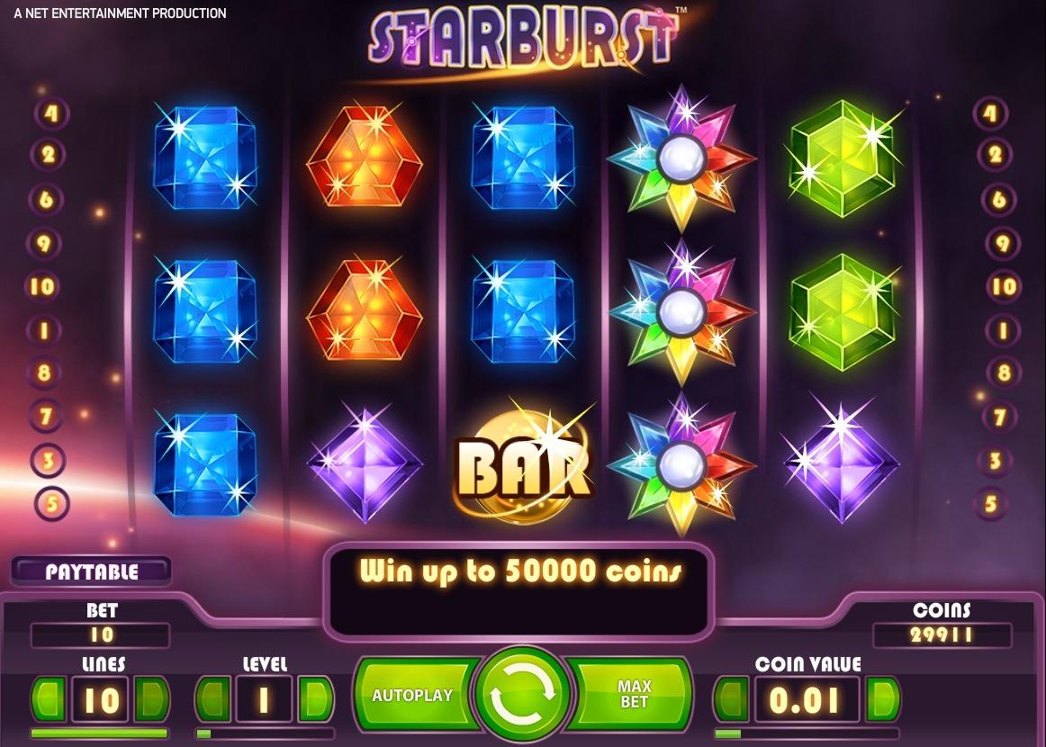 Starburst interface