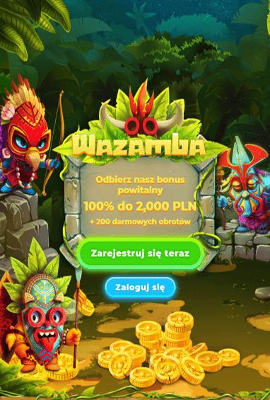Wazamba Casino iOS & Android tablecie