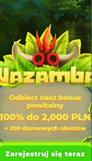 Wazamba Casino iOS & Android mobile